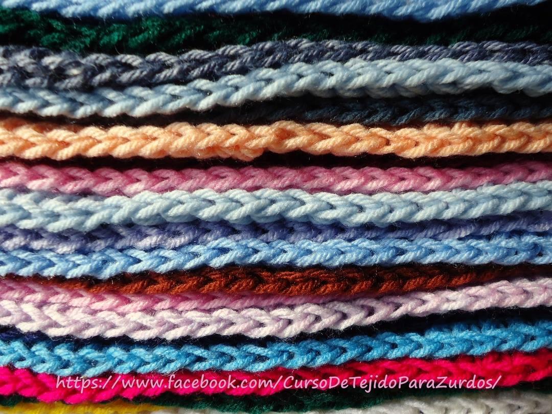 terminaciones en punto cangrejo punto picot y mediopunto tejido al crochet ganchillo para zurdos