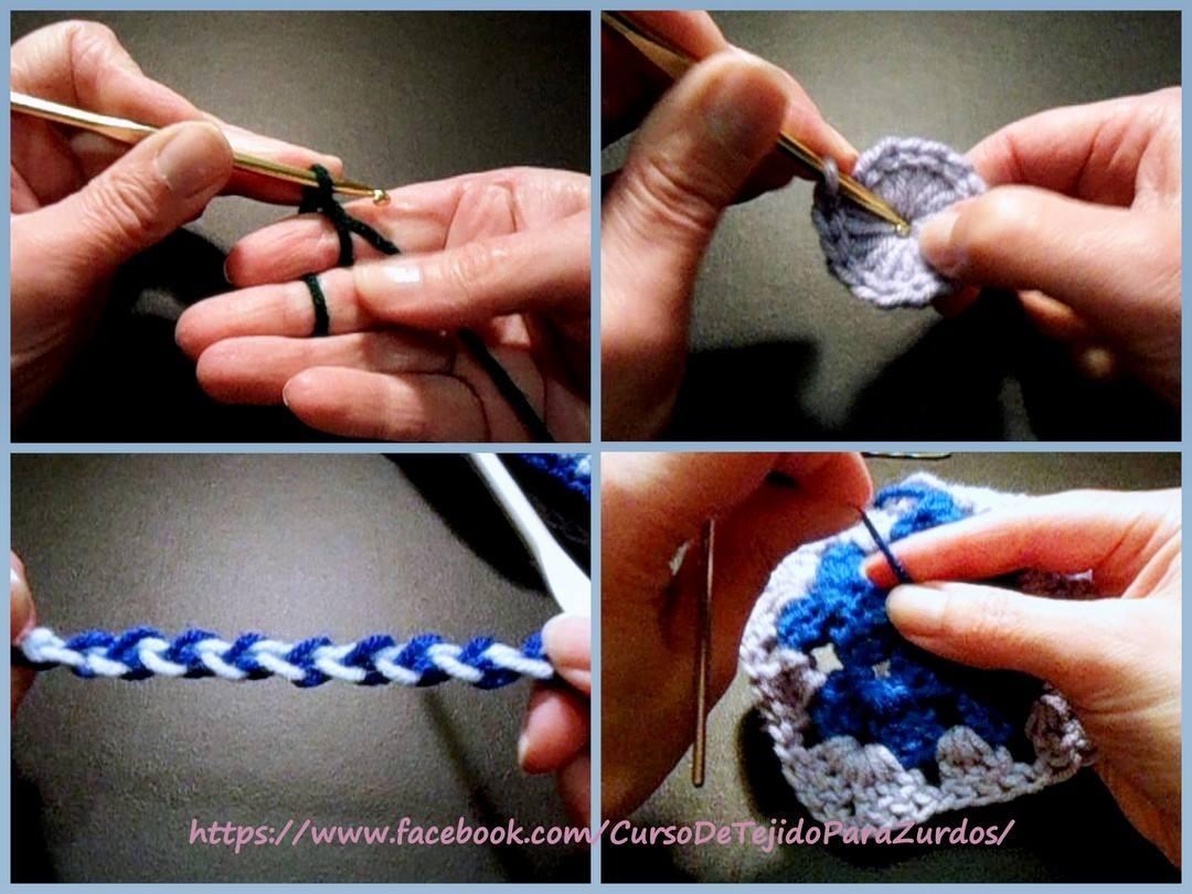 tips imprescindibles para tejer al crochet ganchillo para zurdos
